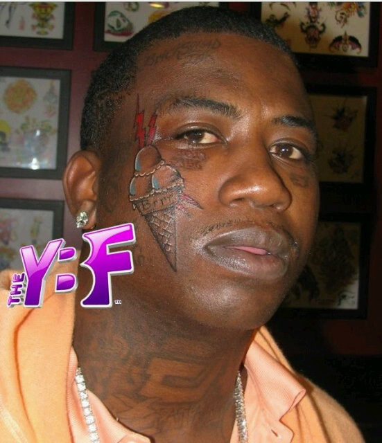 temporary face tattoos. GUCCI#39;s Face tattoo